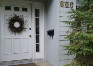 606 S Park Rental Home Front Door