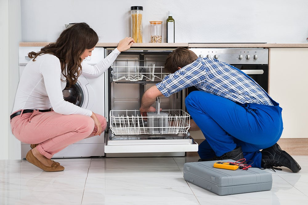 My dishwasher won\'t drain/has water in the bottom of it? - Elkins ...