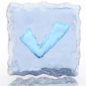 ice checkmark