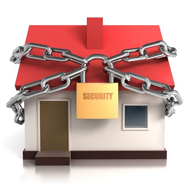 secure your home or apartment for spring break